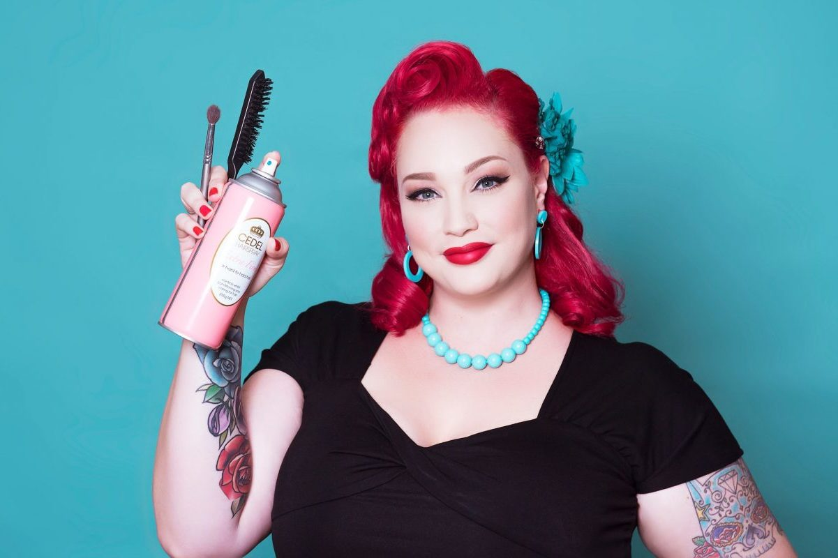 A Complete Guide to Modern Pinup Makeup